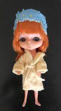 Vintage KAMAR 1968 JAPAN doll BIG EYES - RED HAIR - Mona