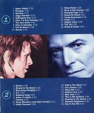 David Bowie - 2 CDs - THE SINGLES COLLECTION ©1993 EMI NL-37-track Glam Rock