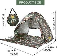 Monojoy Pop Up Tent Beach Tent Sun Shelter Shade Canopy CAMO UV 50+ Lightweight