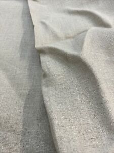 100% Linen Fabric Natural Beige 50cm x 135(W) 156gsm- Dress Pant Napkin Cushion
