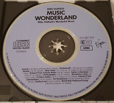 Mike Oldfield - Music Wonderland, Virgin 610 387-222, SANYO Japan, Blueface CD