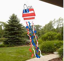 Jetmax Patriotic Snoopy On Doghouse Windsock 40215