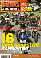 MOTO JOURNAL 1477 TRIUMPH 955 SPEED TRIPLE DUCATI S4 HONDA X11 KAWASAKI ZRX 1200