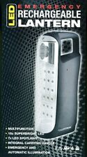 LLOYTRON LED EMERGENCY RECHARGEABLE LANTERN TORCH-MODEL D1002GR LIGHT UP LANTERN