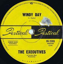 Executives ORIG OZ 45 Windy day VG+ '68 Festival FK2395 Sunshine Pop