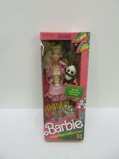 Vintage Barbie 1988 Animal Lovin' Barbie Doll With Pet Panda - Nrfb Sealed