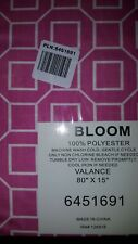 Bloom Pink And White Valance