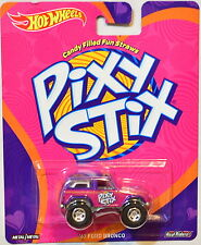 HOT WHEELS POP CULTURE CANDY SERIES PIXY STIX '67 FORD BRONCO