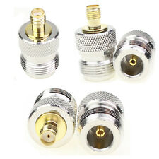 Lot 5pcs N Type Female Jack to SMA Female Plug Straight RF Connector Adapter