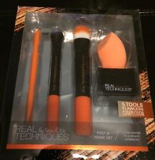 Real Techniques Prep and Prime Make Up Brush Set
