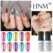HNM Platinum Nail Gel Polish Manicure Soak Off UV LED Nail Art Base Top Coat