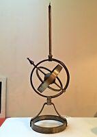 Rare Lampe Astrolabe Ryckaert dg Adnet Poillerat moderniste Fer Forgé art deco