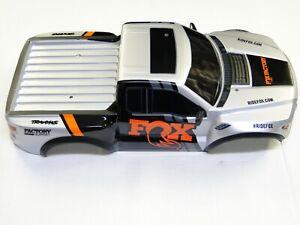 NEW TRAXXAS SLASH 1/10 2WD Body Factory Painted SILVER FOX RAPTOR VXL RL4F
