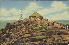 Summit House ~ Whiteface Mountain ~ Adirondack Mountains NY ~ Linen Postcard