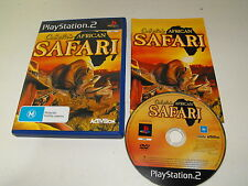 """Cabelas African Safari PS2 Game Tested & Working """"Fast and Free Postage"""""""