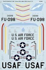 Microscale Decals 1/48 North-American F-86F Sabre # SS480963