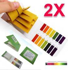 80 Strips Ph Indicator 1-14 Test Paper Litmus Tester Laboratory Urine Saliva