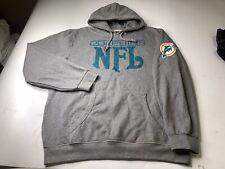 Mitchell & Ness Miami Dolphins Hoodie Sweatshirt Pullover Men's Size 3XL