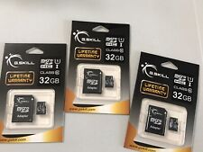 G.Skill - Flash memory card ( microSDHC to SD adapter included ) - 32 GB (3)