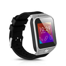Bluetooth V3.0 Smart Watch Bracelet Phone Mate for Android Samsung HTC/LG Silver
