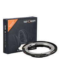 K&F Concept Lens Adapter for Nikon G AF-S AI F Lens to Canon EOS EF Mount Camera