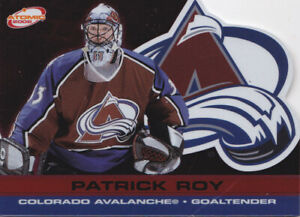 01-02 Pacific Atomic Patrick Roy /290 RED Parallel Avalanche 2001