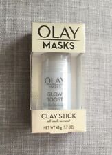 🙀 NIB RARE Olay Masks Glow Boost White Charcoal Mask Stick Great 4 Men 2!