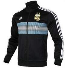Adidas para hombre Argentina 2018 Wold Cup 3 Rayas Chaqueta De Fútbol Track  de Superdry CE6654 S d414dcc4af51b