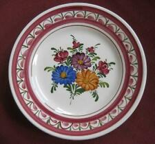 "Wechsler Hand Painted Floral 9.5""  Wall Plate Made in Austria"