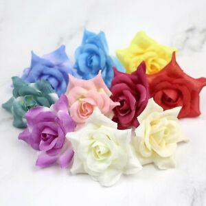 "Wholesale 2"" Fake Rose Bulk Artificial Silk Flower Heads for Wedding Home Decor"