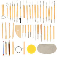 42 pcs Wood Wax Clay Soap Carvers Tool Modelling Carving Sculpting Pottery Craft