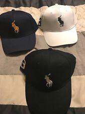 NEU Polo RALPH LAUREN Baseball Cap Mütze Big Pony verstellbaren Riemen