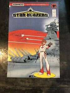 Star Blazers #1 Comico Four Issue Mini-series