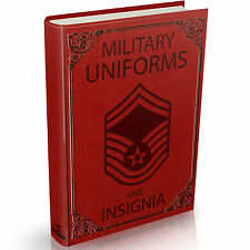 Military Uniforms & Insignia Books on DVD Navy Army Air Force Medals Patches