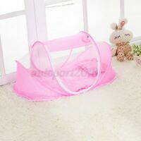 Foldable Mosquito Net Folding Baby Travel Bed Crib Canopy Beach Mesh Tent