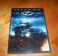 THE DARK KNIGHT Batman Christian Bale Michael Caine DC Classic Movie DVD NEW