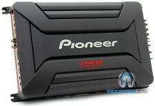 PIONEER GM-A6604 4-CHANNEL 760W COMPONENT SPEAKERS TWEETERS CAR STEREO AMPLIFIER