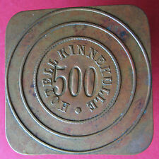 Old trade token - jeton - Sweden - Hotell Kinnekulle - 500