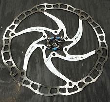 Ashima Airotor Mountain Bike Disc Brake Rotor MTB 180mm 180 mm White 109g
