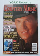 COUNTRY MUSIC INTERNATIONAL MAGAZINE - July 1996 - George Strait / Mandy Barnett