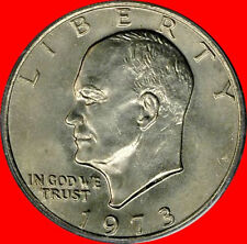 1973  Eisenhower Dollar Choice/Gem Bu No Reserve