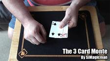 The 3 Card Monte Magic Trick