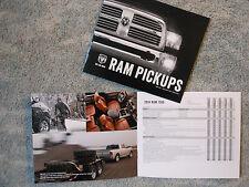 2014 Dodge Ram 1500 2500 3500 Color Folder Auto Show New