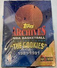 1992-93 TOPPS ARCHIVES THE ROOKIES SEALED BOX MICHAEL JORDAN 24 packs 1981-1991