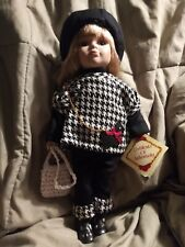 Dan Dee Authenticated Collector's Choice Doll With Scottie Dog Outfit Nwot Exc
