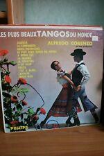 VINYLE 33 TOURS - LES PLUS BEAUX TANGOS DU MONDE ALFREDO CORENZO