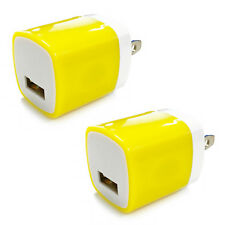 2x USB Wall Charger Power Adapter AC Home US Plug FOR iPhone 6 7 8 X Samsung Lg