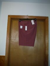 Flat Front Light Men's Shorts size 40 Sonoma color Rose 4 pockets NWT