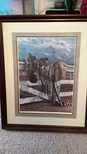 "Western cowboy art  ""After The Last Ride"" by Gray stone Press #458/600"