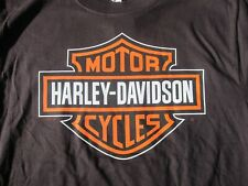 Dudley Perkins Co. Harley-Davidson Black Bar & Shield T-Shirt ***BRAND NEW***
